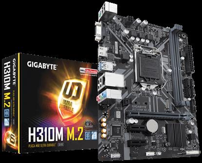Imagem de H310M M.2 2.0   -  MB P / INTEL LGA 1151, 8° GERAÇÃO, CHIPSET H310 2DDR4, PCI EX16 MICRO ATX
