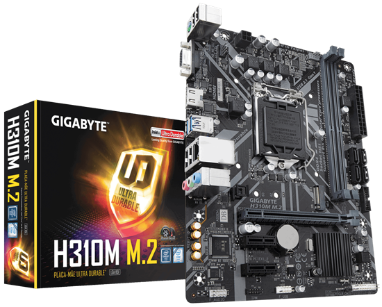 Picture of H310M M.2 2.0   -  MB P / INTEL LGA 1151, 8° GERAÇÃO, CHIPSET H310 2DDR4, PCI EX16 MICRO ATX