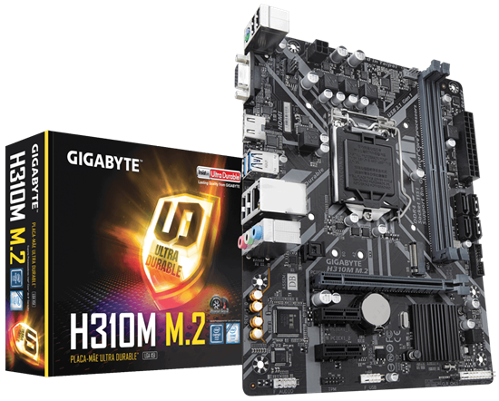 Picture of MOTHERBOARD P / INTEL LGA 1151, 8° GERAÇÃO, CHIPSET H310 2DDR4, PCI EX16 MICRO ATX - H310M M.2 2.0