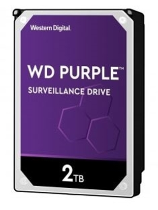 Imagem de HD WD SATA 3,5` PURPLE SURVEILLANCE 2TB INTELLIPOWER 64MB CACHE SATA 6.0GB/S  - WD20PURZ I
