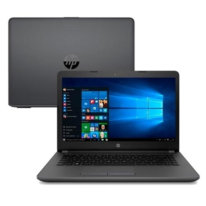 "Imagem de NOTEBOOK HP 240 G6 - I3 7020U - 4GB - DDR4 2133MHZ - HD 500 GB - TELA 14"" - WIN HOME - 1 ANO"