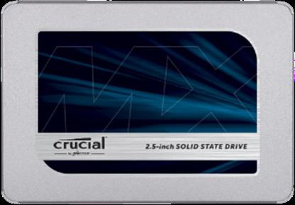 """Imagem de SSD CRUCIAL MX 500 - 500GB SATA 2,5"""" - 7MM [COM ADAPTADOR DE 9,5MM] - MICRON"""