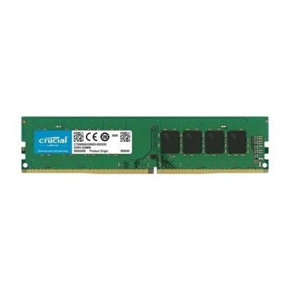 Imagem de MEMORIA CRUCIAL DESKTOP 8GB - DDR4 2666 / 2400 CL19 SR x8 UDDIM - MICRON