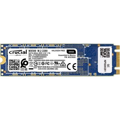 Imagem de CT500MX500SSD4 I - SSD 500GB CRUCIAL MX500 M.2 Type 2280