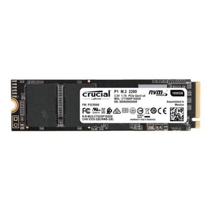 Imagem de CT1000P1SSD8 I  - SSD CRUCIAL P1 1000GB 3D NAND NVMe PCIe M.2 SSD