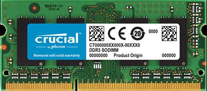 Imagem de MEMORIA CRUCIAL NOTEBOOK 8GB - DDR3/DDR3L [1,35V/1,5V] 1600MHZ - CL11 - PC3L- 12800 - SODIMM - MICRON