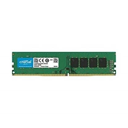 Imagem de MEMORIA CRUCIAL DESKTOP 8GB - DDR4 - 2400MHZ SR - CL17 - PC4-19200 - DIMM- MICRON