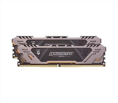 Imagem de BLS2K8G4D30CESTK I  MEMORIA BALLISTIX SPORT DESKTOP 16GB KIT[8GBX2] DDR4 3000 MT/s [PC4-24000] CL17 SR x8 Unbuffered DIMM288pin