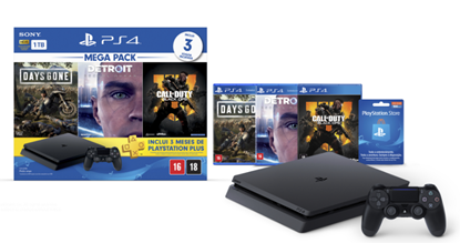 Imagem de PLAYSTATION 4 BUNDLE HITS 1 TB