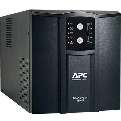 Imagem de NOBREAK APC SMART-UPS 1000VA/700W ENTRADA 115/220V / SAIDA 115V - PADRAO TORRE / LINE INTERACTIV SMC1000XLBI-BR