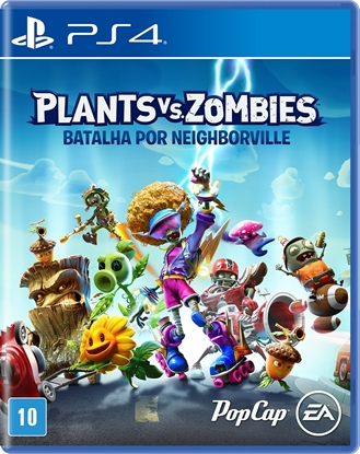 Imagem de PLANTS VS ZOMBIES: BATALHA POR NEIGHBORVILLE PS4