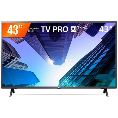 "Imagem de TV LG 43LM631C0SB 43"" SMART  3HDMI 2USB ThnQ AI WebOs"