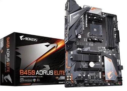 Imagem de MB P/ AMD AORUS ELITE I CHIPSET B450, SOCKET AM4, DDR4