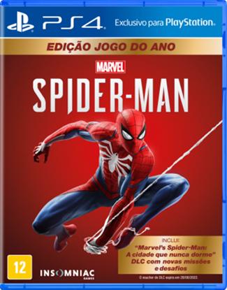Imagem de SPIDER-MAN GOTY EDITION PS4