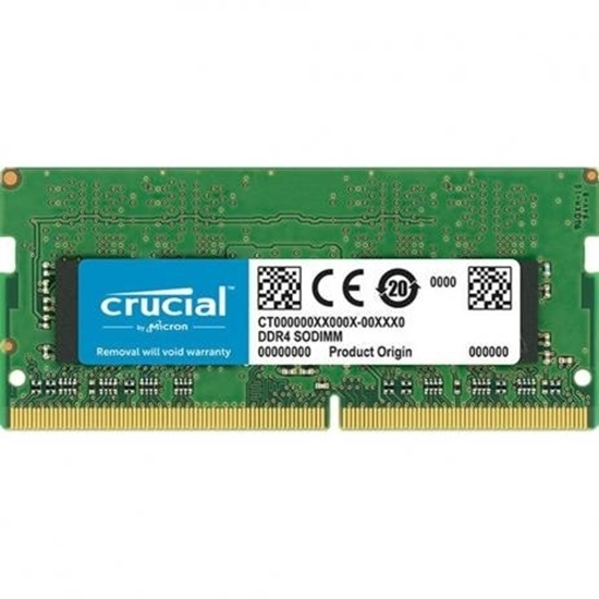 Picture of MEMORIA CRUCIAL NOTEBOOK 4GB - DDR4 2666 / 2400 CL19 x8 SODDIM - MICRON