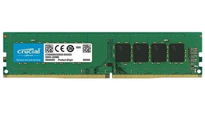 Imagem de CT4G4DFS8266 I - MEMORIA CRUCIAL DESKTOP 4GB - DDR4 2666 MT/s [ PC4 - 21300 ] CL19 SR x8 UDDIM 288pin - MICRON