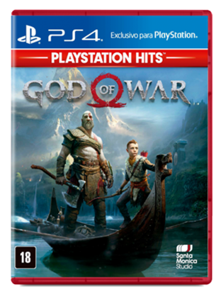 Imagem de GOD OF WAR HITS PS4