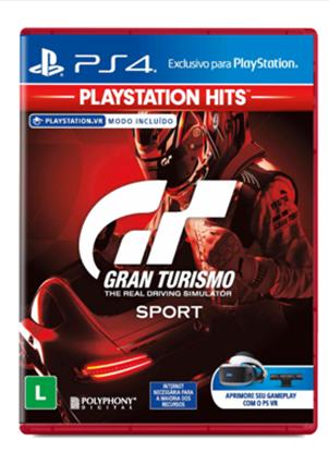 Imagem de GRAN TURISMO SPORT HITS PS4