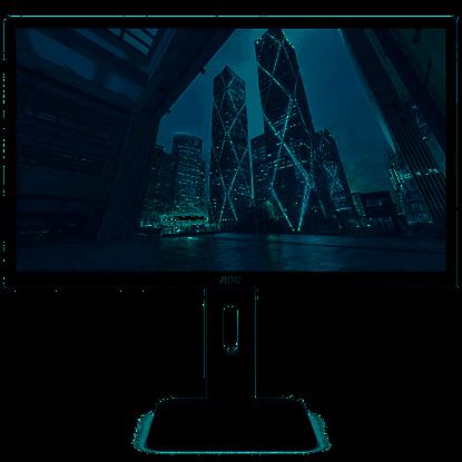 """Imagem de MONITOR AOC 23,8"""" LED WIDE - 24P1U AJUSTE DE ALTURA"""