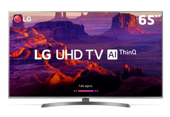 "Picture of TV LG 65"" SMART PRO 4K AI UHD 65UM761C0SB CONTROLE MAGIC REMOTE  4HDMI 2USB"