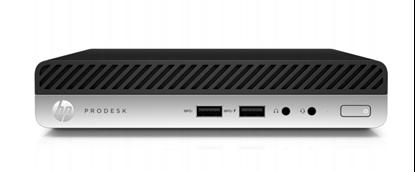Imagem de COMPUTADOR HP PRODESK 400 G4 DM I3 8100T - 8GB - SODIMM DDR4 2666MHZ - SSD 256GB - WINDOWS 10 PRO -  GARANTIA 1 ANO ON SITE