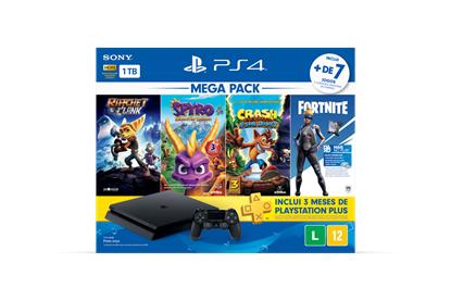 Imagem de PLAYSTATION 4 BUNDLE HITS V8 FAMILY