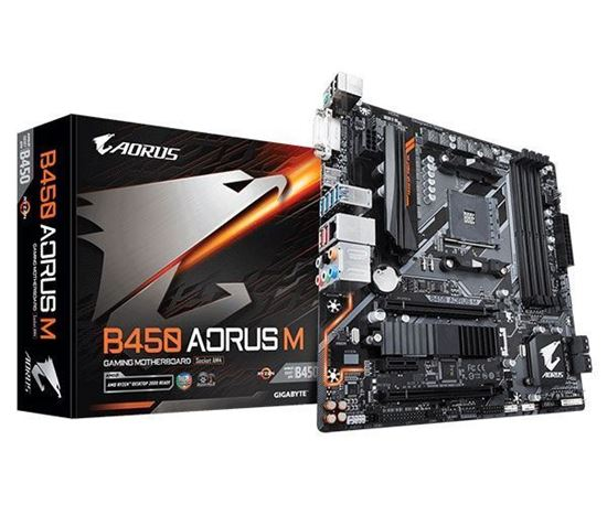 Picture of MOTHERBOARD B450 AORUS M, AMD SOCKET AM4, ATX, DDR4