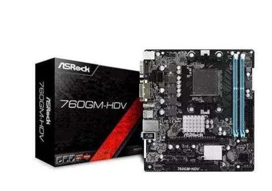 Picture of MOTHERBORD ASROCK 760GM-HD AM3+ / AM3, 8-CORE CPU DDR3