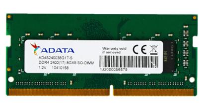 Imagem de MEMÓRIA ADATA NOTEBOOK DDR4 2400 8GB AD4S240038G17-S I