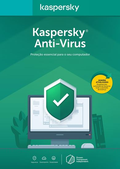 Picture of KASPERSKY ANTI VIRUS 1 USUARIO 1 ANO BR DOWNLOAD
