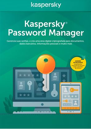 Imagem de KASPERSKY CLOUD PASSWORD MANAGER 1 ANO BR DOWNLOAD