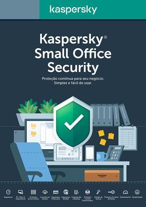 Imagem de KASPERSKY SMALL OFFICE SECURITY 1 USUARIO 1 ANO RENOVAÇÃO BR DOWNLOAD 25 a 49 USUARIOS - COMPRA MINIMA 25 UNIDADES.