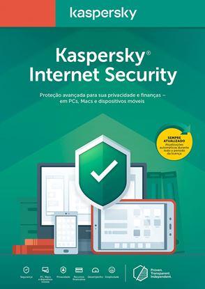 Imagem de KASPERSKY INTERNET SECURITY 3 DISPOSITIVOS 1 ANO RENOVAÇÃO DOWNLOAD