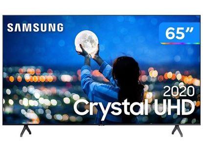 "Imagem de SMART TV SAMSUNG CRYSTAL UHD 4K TU7000 65"", BORDA ULTRAFINA, CONTROLE REMOTO UNICO, BLUETOOTH"