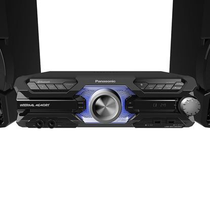 Imagem de MINI SYSTEM PANASONIC SC-AKX710LBK, 2 USB, BLUETOOTH MAX JUKE, WIRELESS MEDIA, 1800W RMS SC-AKX710LBK