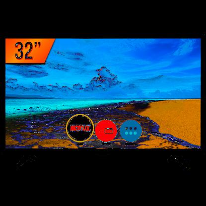 """Imagem de TV PANASONIC SMART LED 32"""", 2 HDMI, USB, WI-FI - 1 ANO DE GARANTIA"""
