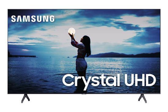 "Picture of SAMSUNG SMART TV CRYSTAL UHD TU7020 4K 55"", DESIGN SEM LIMITES, CONTROLE REMOTO UNICO, CANALETAS PARA VISUAL LIVRE DE CABOS, BLUE"