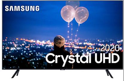 "Imagem de TV SAMSUNG SMART CRYSTAL UHD 4K TU8000 55"", BORDA ULTRAFINA, MÚLTIPLOS ASSISTENTES PESSOAIS UN55TU8000GXZD"