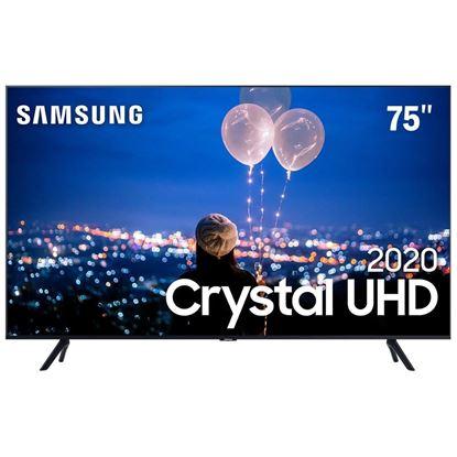 """Imagem de SAMSUNG SMART TV CRYSTAL UHD 4K TU8000 75"""", BORDA ULTRAFINA, MULTIPLOS ASSISTENTES PESSOAIS"""