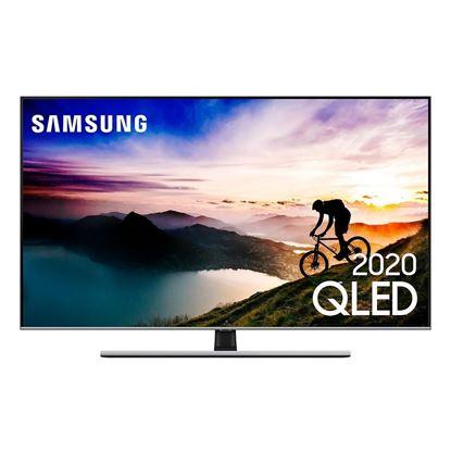 """Imagem de SMART TV SAMSUNG QLED 4K Q70T 55"""", MODO AMBIENTE 3.0, BORDA INFINITA, DESIGN COM CABOS ESCONDIDOS, CONTROLE REMOTO UNICO"""