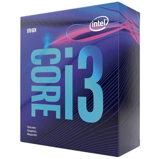 Picture of PROCESSADOR INTEL CORE I3 9100F 3.60 GHZ [FREQUENCIA MAXIMA 4.20 GHZ] 6 MB CACHE LGA1151 14C, COFFEE LAKE 9 GERAÇÃO