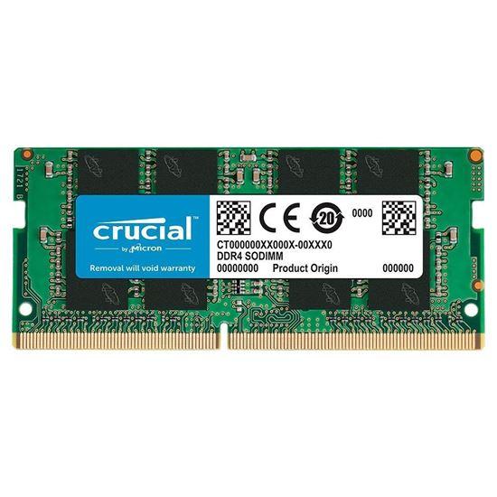 Picture of MEMÓRIA CRUCIAL NOTEBOOK 8GB DDR4 2666 MT/S [PC4-21300] CL19 SR X8 SODIMM CT8G4SFRA266 I