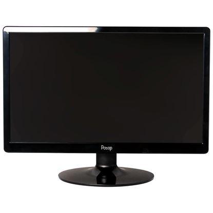 "Imagem de MONITOR PCTOP LED 19"", VGA, HDMI, PRETO - 1 ANO DE GARANTIA"