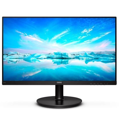 "Imagem de MONITOR PHILIPS 23,8"" FHD LED IPS WIDE 242V8A HDMI/VGA/DP PRETO BORDAS ULTRAFINAS"