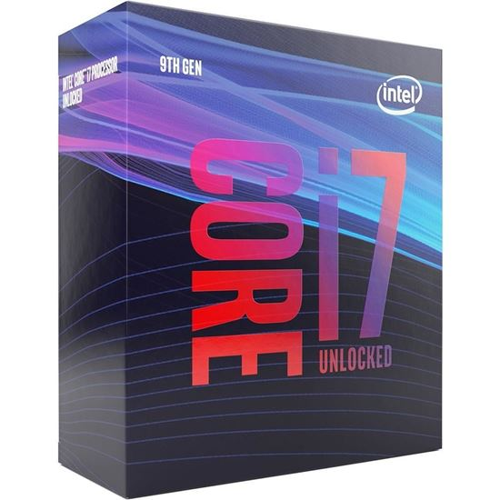 Picture of PROCESSADOR INTEL CORE I7 9700K 3,60 GHZ 12MB CACHE LGA 1151 COFFEELAKE 9A GERACAO BX80684I79700K I