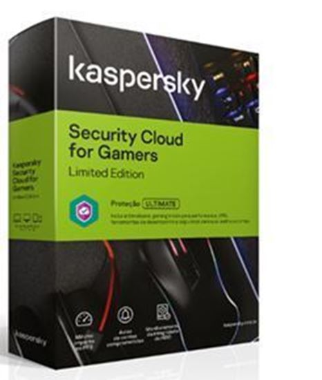 Picture of KASPERSKY SECURITY CLOUD FOR GAMERS - LIMITED EDITION