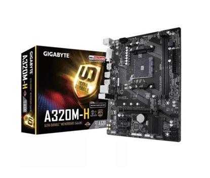Imagem de MOTHERBOARD P/ AMD RYZEN 2O GERACAO CHIPSET AMD A320 DRR4 GA-A320M-H I