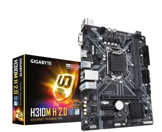 Picture of MOTHERBOARD P/ INTEL LGA 1151 8O/ 9O GERACAO CHIPSET H310 DDR4 PCI H310M H 2.0 I