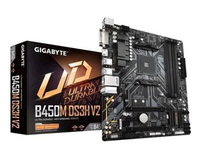 Imagem de MOTHERBOARD  B450M DS3H V2 , AMD RYZEN 3º GERACAO  / 2º GERACAO  /   1º  GERACAO  SOCKET AM4, AMD , MATX, DDR4