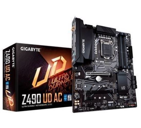 Picture of MOTHERBOARD GIGABYTE AORUS Z490 UD AC, INTEL LGA 1200, ATX, DDR4 - 10º GERACAO